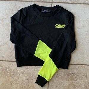 YOUNG & RECKLESS Cropped Long Sleeve